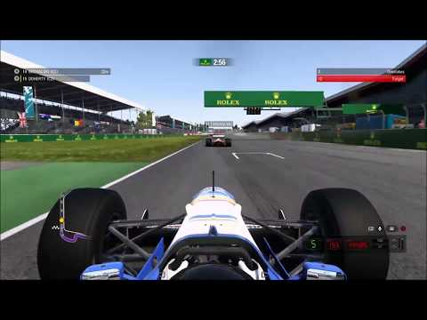 F1 2017 OVERTAKE CHALLENGE - SILVERSTONE