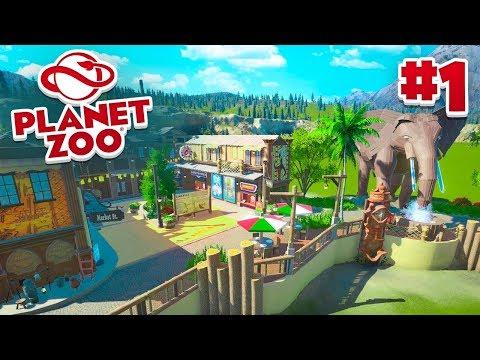 Download STARTING MY ZOO! - Planet Zoo #1 w/ Vikkstar