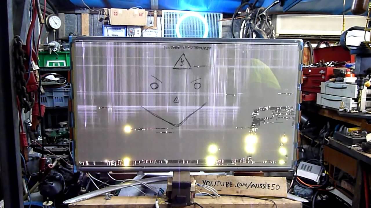 Samsung Plasma Display Extreme Burn In Youtube