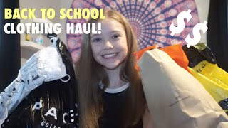 BACK TO SCHOOL CLOTHING TRY ON HAUL!!!// haul