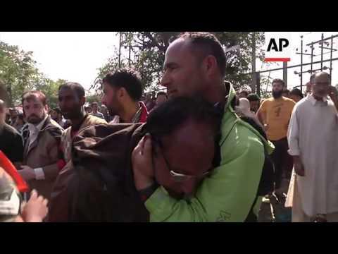 Rescue teams continue to evacuate stranded people