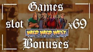 Bonus game X69 Wild Wild West Slot Machine Review