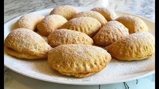 Печенье Ракушки / Печенье с Яблоками / Apple Cookies Recipe / Очень Простой Рецепт(Вкусно и Быстро)