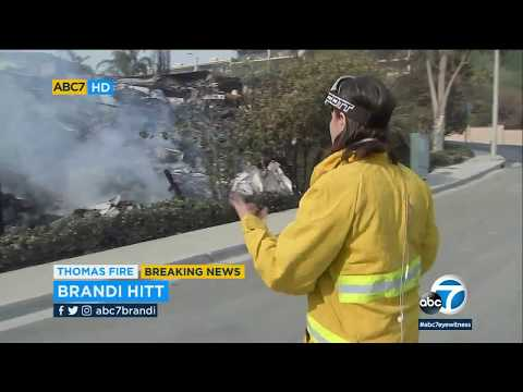 Ventura apartments consumed by Thomas Fire   ABC7