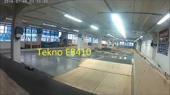 Tekno EB410 and Team Associadet B64 for Rc Raceway Friitala,Finland