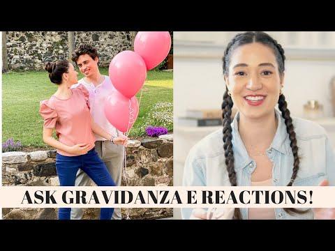 ASK GRAVIDANZA E VIDEO REACTIONS ALL' ANNUNCIO!!!