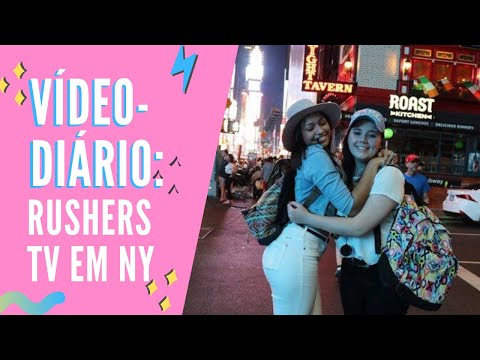 VÍDEO DIÁRIO: Rushers TV Brazil em Nova York