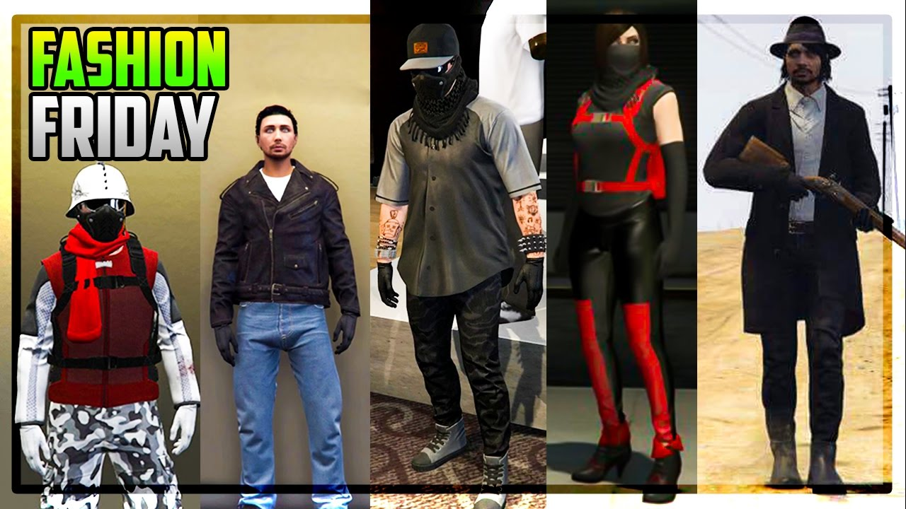 GTA 5 ONLINE FASHION FRIDAY! (John Marston The Night Break Elektra U0026 More) - YouTube
