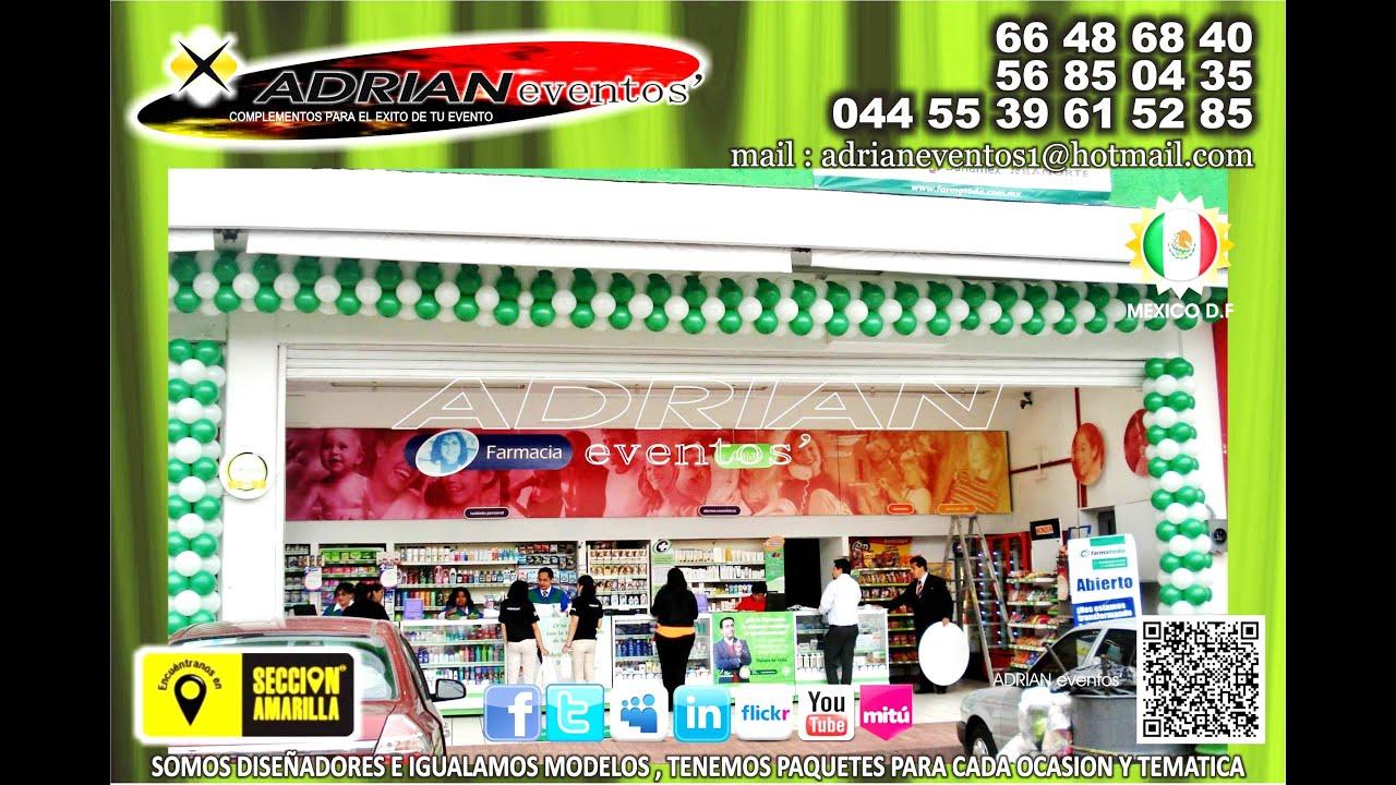 Globos para inauguraciones comerciales negocios - Ideas para decorar tu negocio ...