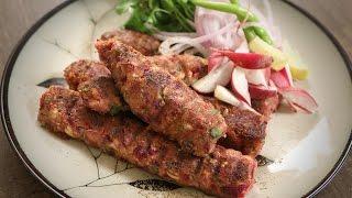 How To Make Veg Seekh Kebab | Popular Veg Starter Recipe | The Bombay Chef - Varun Inamdar