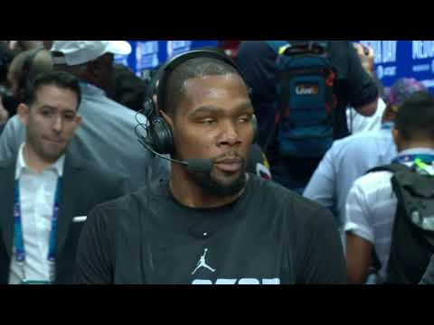 Kevin Durant mentions Orlando Magic's Jonathan Isaac with Anthony Davis & Giannis Antetokounmpo