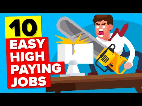 10 Surprisingly Easy High Paying Jobs