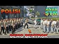 DEMO TAWURAN!! ANAK STM VS POLISI RICUH - GTA 5 PARODY 86