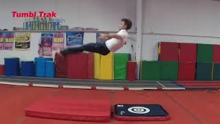 1 Basic Jumps On Floor with TumblTrak Inflatable Complete