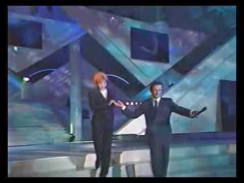 Mylène Farmer et Luc Besson Interview Stars 90 TF1 09 septembre 1991