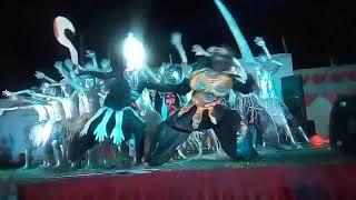 idol dance korba 9 durga dance