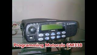 MOTOROLA GM338 REPEATER PROGRAMMING