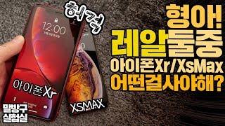 형아! 아이폰Xs max 아이폰Xr 둘중 어떤걸 사야해?