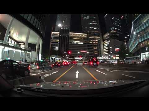 Nagoya night drive 4K 名古屋市内 2017