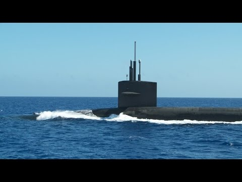 How to resupply a nuclear submarine