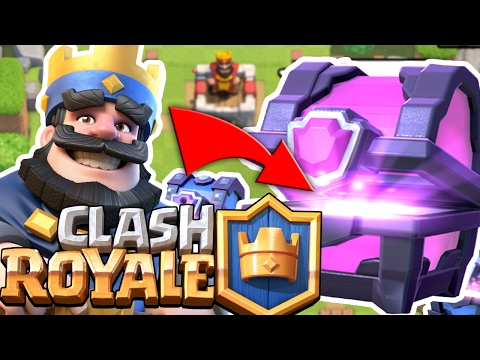 BUYING $100 OF SUPER MAGICAL CHESTS - CLASH ROYALE MOBILE APP (IOS/Android)