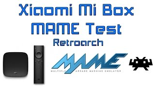 Xiaomi Mi Box MAME Test In Ret…