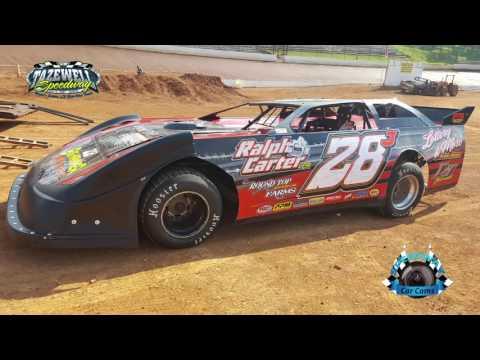 #28J Randy Davis - Sportsman - 7-2-17 Tazewell Speedway - In-Car Camera