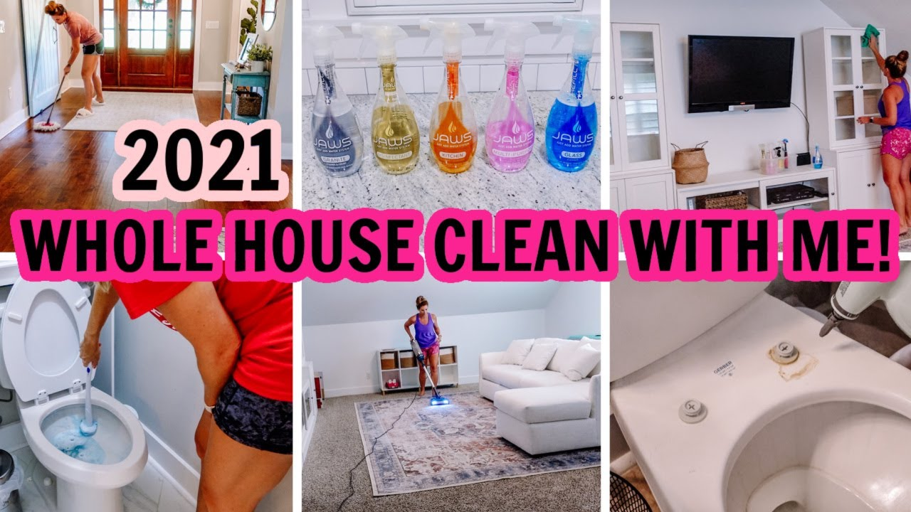🤩2021 WHOLE HOUSE CLEAN WITH ME | EXTREME CLEANING MOTIVATION | Amy Darley