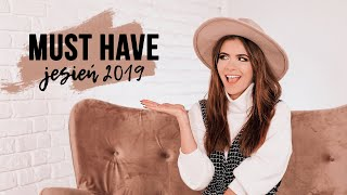 MUST HAVE JESIEŃ 2019 | CheersMyHeels
