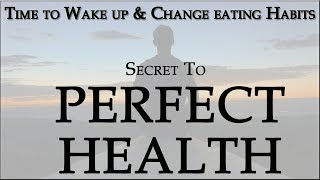 Do you know what are eating and should eat? time to change habits. this video brings the one follow achieve healthy ...