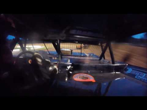 Brett McDonald Heat Race Lernerville Speedway 6/30/17 IN-CAR