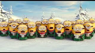 Ucapan dan lagu Natal lucu funny minion christmas song