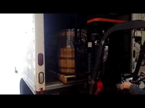 Smith's Moving Company Freight Pallets Delivery 200 LBS Barrels