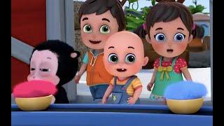 Baaa Baaa Black Sheep | Learn English with songs for children | Jugnu Kids