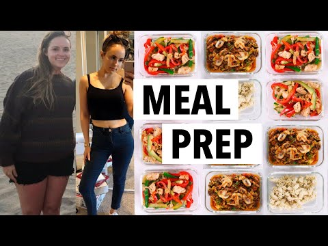 WEIGHT LOSS MEAL PREP WEEK FOR WOMEN (1 WEEK IN 1 HOUR) | how I lost 50+ lbs