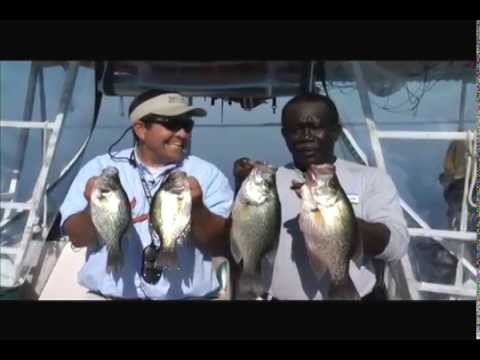 Scstv s01e26 capt carl santee cooper slab crappie youtube for Lake moultrie fishing report