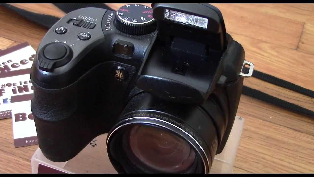 ge x400 black 14mp digital camera with 2 7 lcd optical image rh youtube com