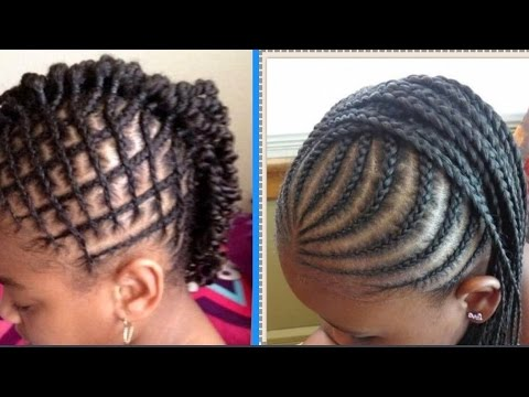Natural Hair Kids Styles For Back to School on 4b 4c Hair|Supa ...