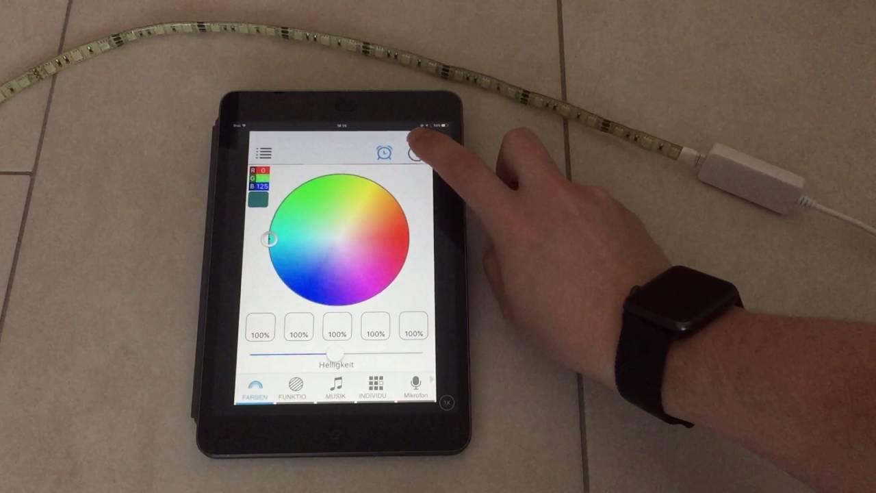 arilux al lc01 led controller mit light manager von jbmedia youtube. Black Bedroom Furniture Sets. Home Design Ideas