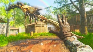 THE MOST UNIQUE MELEE WEAPON EVER in CALL OF DUTY!