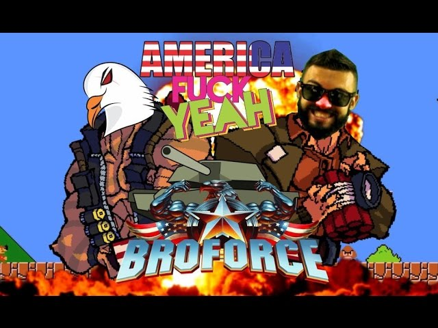 BROFORCE - America Fu@#$ Yeah feat. Rex