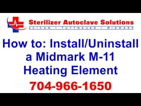 How to Uninstall and Install a Midmark M11 Heating Element