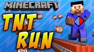 Minecraft: TNT RUN CHALLENGE #2 with Vikk, Nade & Jerome