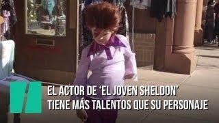 El actor de 'El joven Sheldon' tiene más talentos que su personaje
