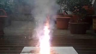 Hexaphenox-PVC resin composite test firing 2.wmv