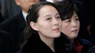 Kim Jong-un's sister arrives in South Korea