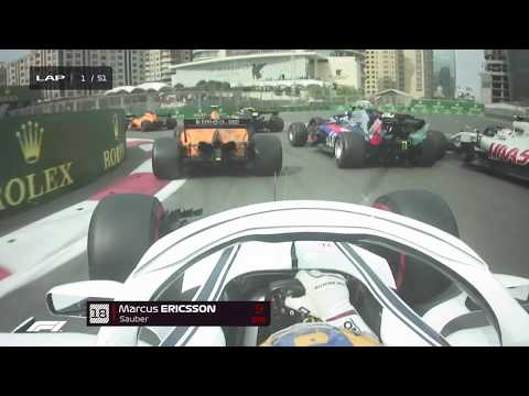 Best Onboards | 2018 Azerbaijan Grand Prix