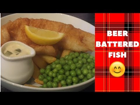 Traditional Beer Battered Fish & Chips Recipe & Cook With Me :)