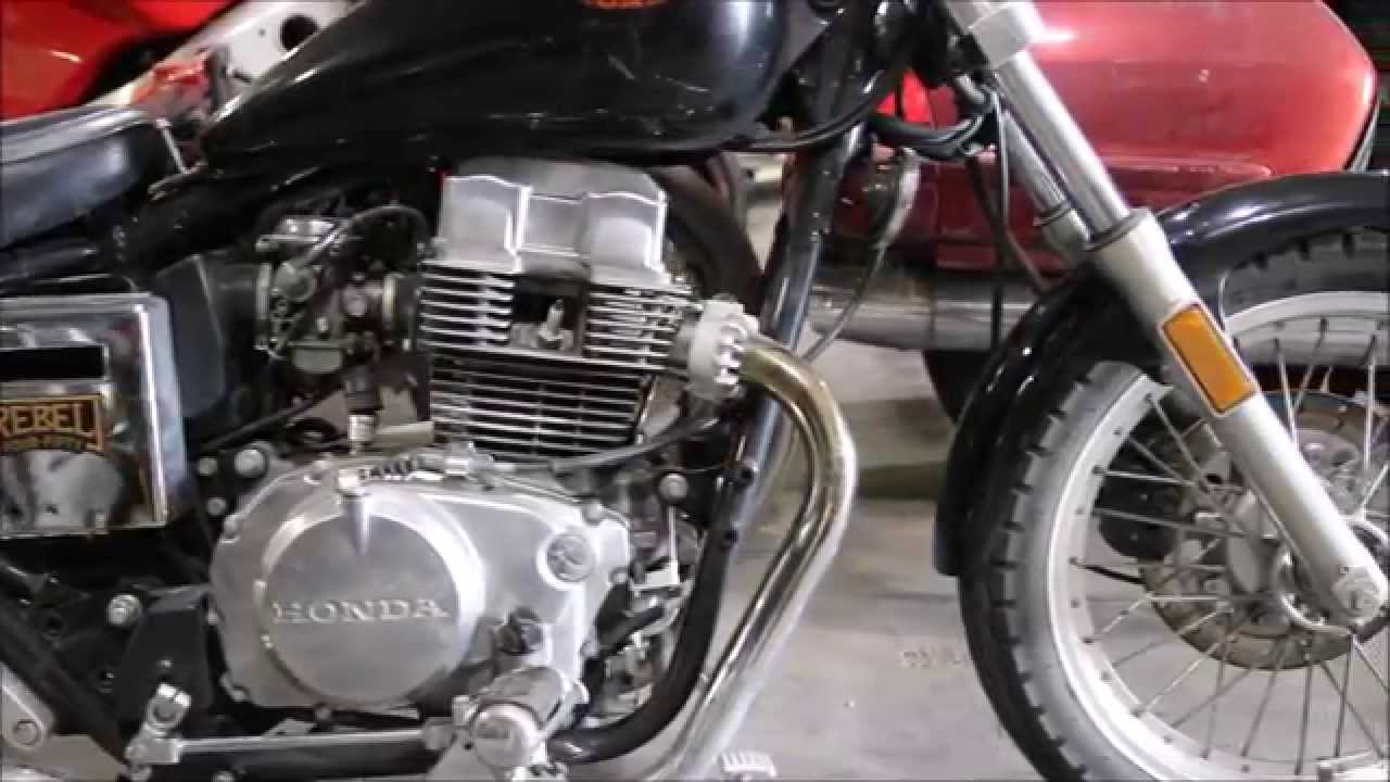 1989 Honda CMX 450 Rebel Used Parts - YouTube