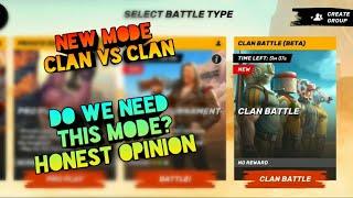 Guns of boom New mode ||  clan vs clan | Honest opinion